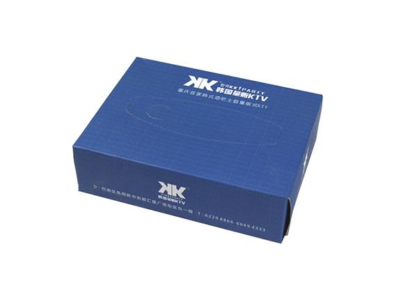 重庆盒抽纸定制